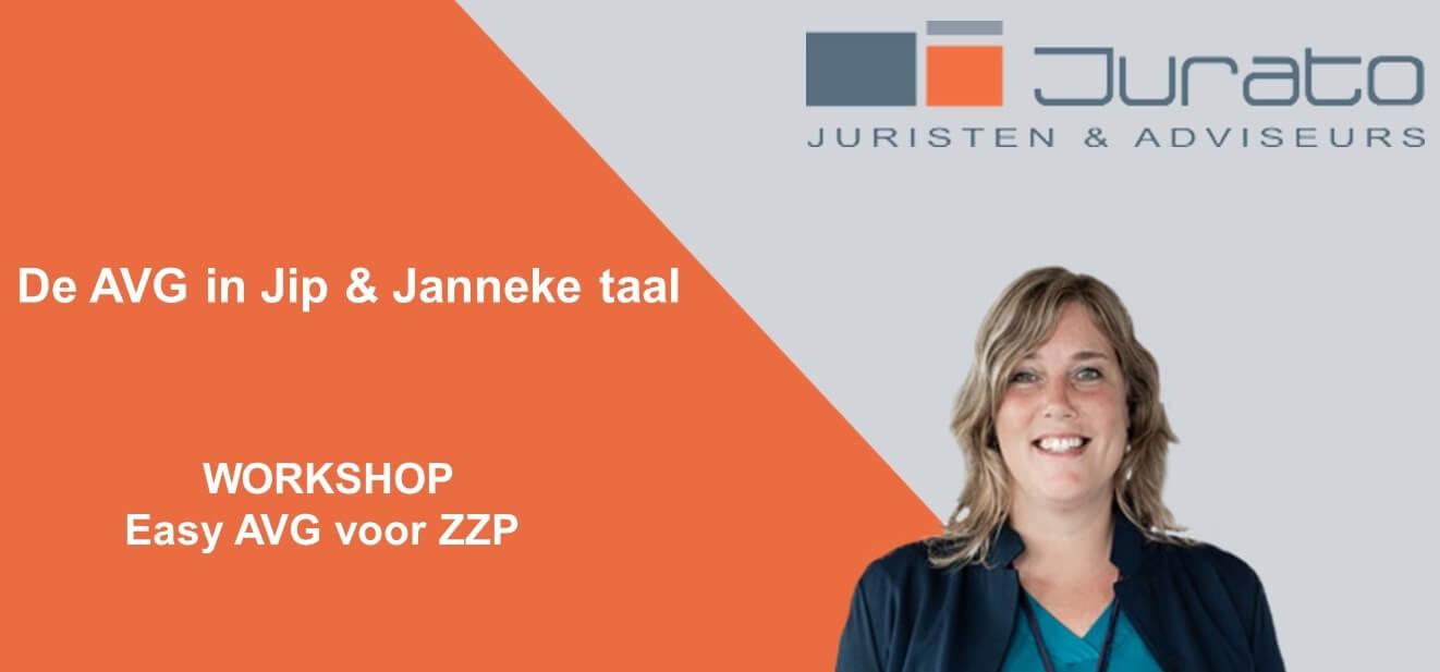 Workshop Easy AVG voor ZZP