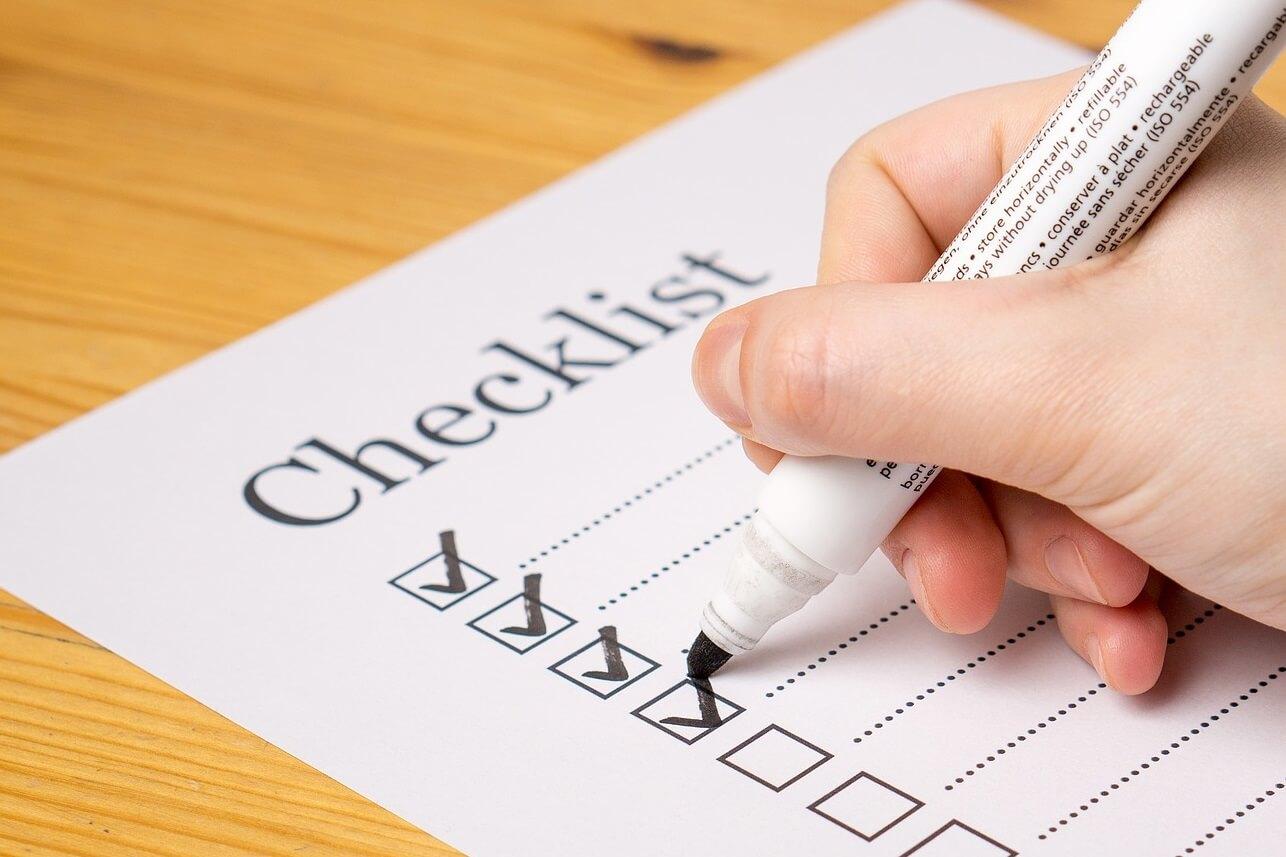 Checklist WAB